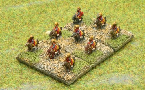 6mm Warmaster Ancients Early Persian army: Light cavalry