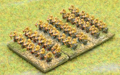 6mm Warmaster Ancients Early Persian army: Archers