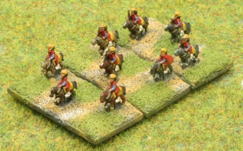 6mm Warmaster Ancients Late Persian army: Cavalry
