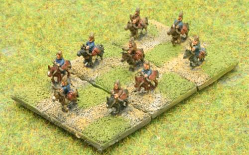 6mm Warmaster Ancients Late Persian army: Skythian cavalry