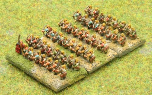 6mm Warmaster Ancients Late Persian army: Archers