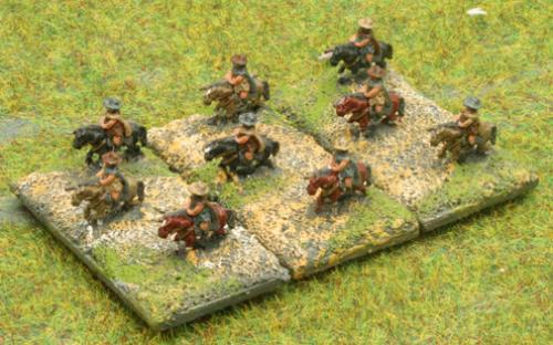 6mm Warmaster Ancients Greek army: Thessalian light cavalry