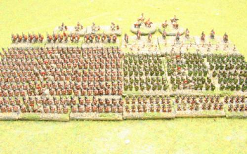 6mm Warmaster Ancients Imperian Roman army: Full army