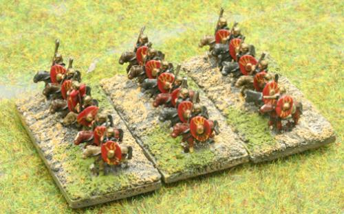 6mm Warmaster Ancients Imperian Roman army:
