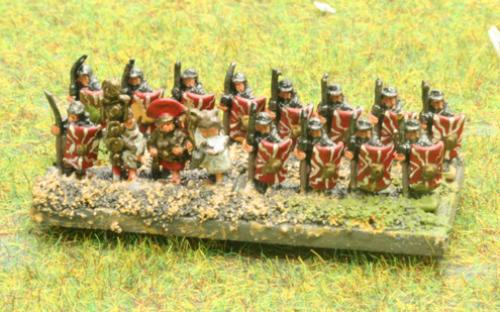 6mm Warmaster Ancients Imperian Roman army: Legionaries