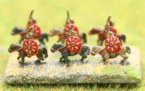 6mm Warmaster Ancients Carthaginian army: Heavy Cavalry