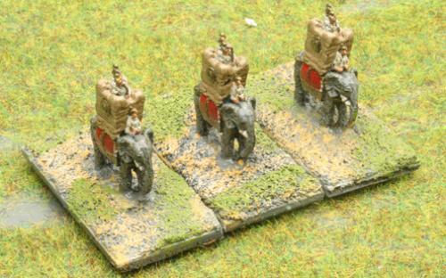 6mm Warmaster Ancients Carthaginian army: Elephants