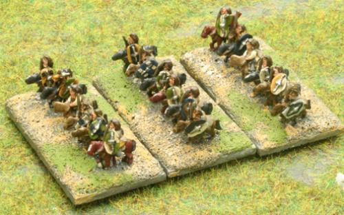 6mm Warmaster Ancients German army: Nobles