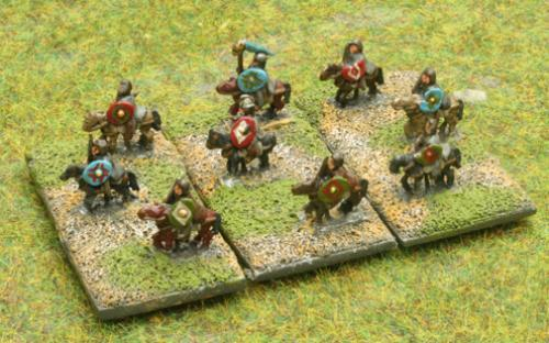 6mm Warmaster Ancients Dacian army: Dacian cavalry