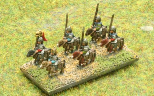 6mm Warmaster Ancients Dacian army: Sarmatian cavalry