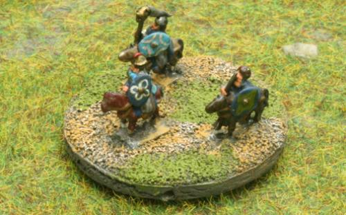 6mm Warmaster Ancients Dacian army: Leaders