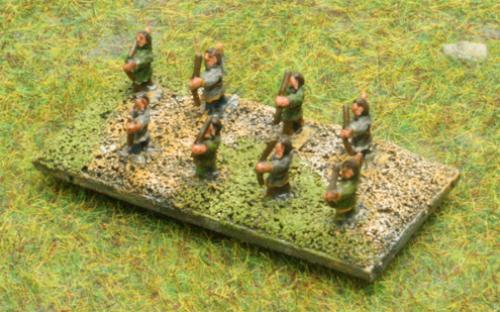 6mm Warmaster Ancients Dacian army: Archers