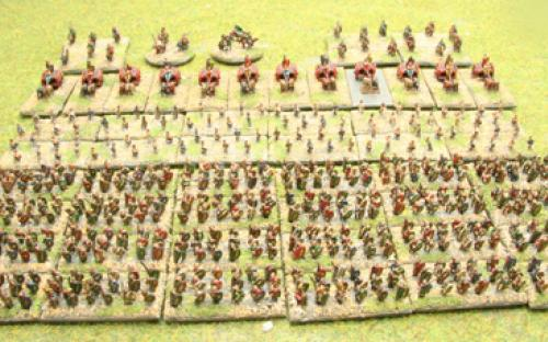 Warnaster Ancients British 6mm Ready Painted Army