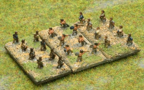 Warnaster Ancients British 6mm skirmishers