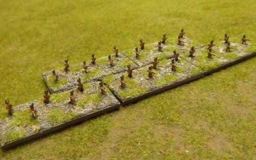 British line infantry skirmishers