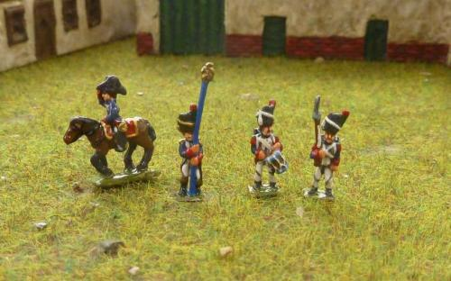 Napoleonic French Imperial Guard Chasseurs
