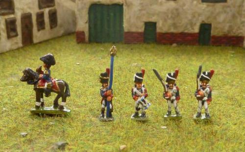 Napoleonic French Imperial Guard Grenadiers