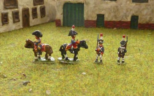 Napoleonic French Young Guard Tirailleurs