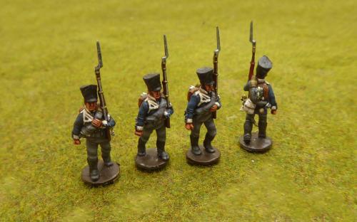 Napoleonic Prussian Pomeranian Regiment (Perry miniatures)