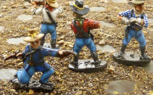 Old West US Cavalry