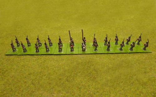 15mm Napoleonic British 65th 2nd Yorkshire (Norh Riding) (Blue Moon figures)