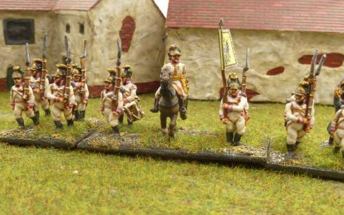 Austrian line infantry regiment Wurttemberg