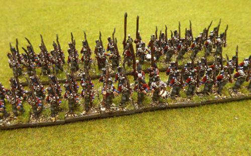 15mm 1st and 2nd KGL line infantry (Blue Moon miniatures)
