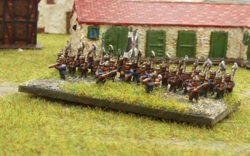Prussian infantry