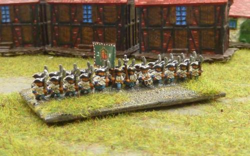 Austrian (Hungarian) infantry