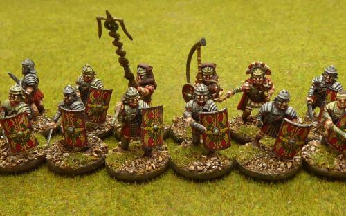 Warlord Games Veteran legionaries