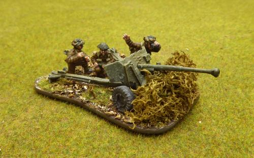 28mm WW2 British Army (Warlord Games) 6pdr ATG