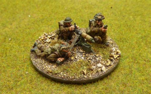 28mm WW2 British Army (Warlord Games) HMG