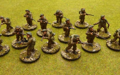 28mm WW2 British Army (Warlord Games) 50 men