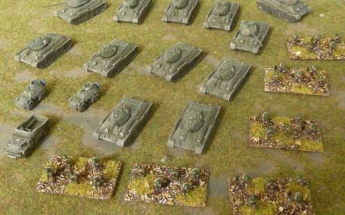 The whole battalion