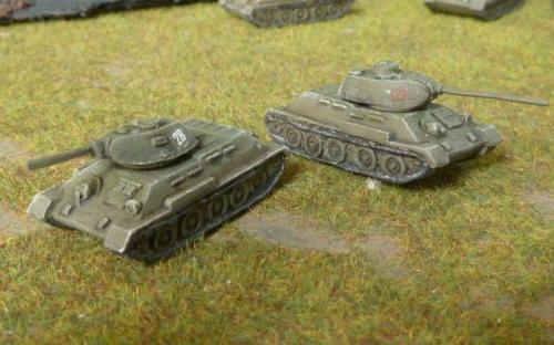 T34/76 and T34/85