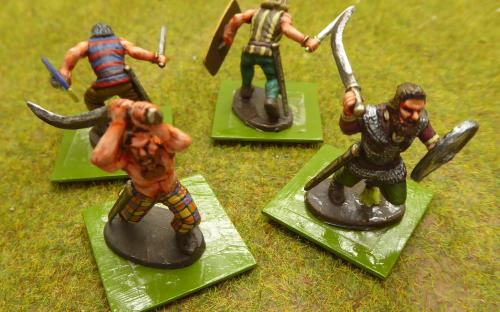 28mm Ancient Dacian Flaxmen (Warlord Games)
