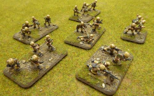 15mm WW2 German Fallschrimjaeger Company FOW-GBX08 (Flames of War)