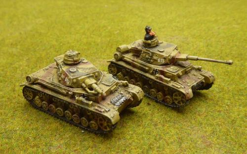 FOW-GBX03   Panzer IV F1-F2 Platoon Box (5 Tanks) set