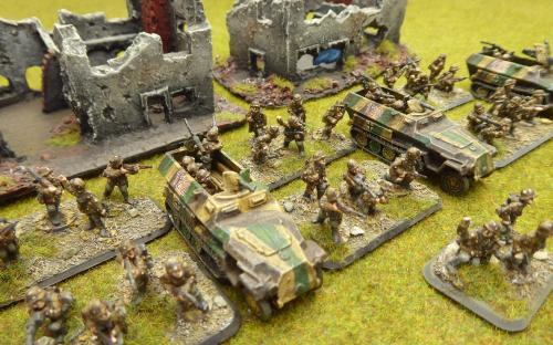 15mm FOW-GBX01   German Armoured Panzergrenadier Platoon Box se