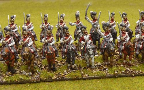 28mm Napoleonic Bavarian Dragoons (Front Rank)