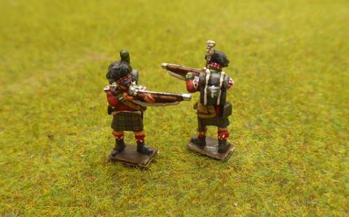 15mm British Highlanders