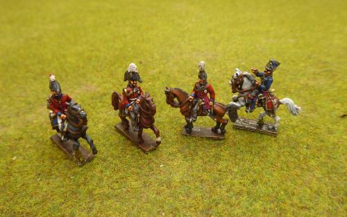 15mm British Generals