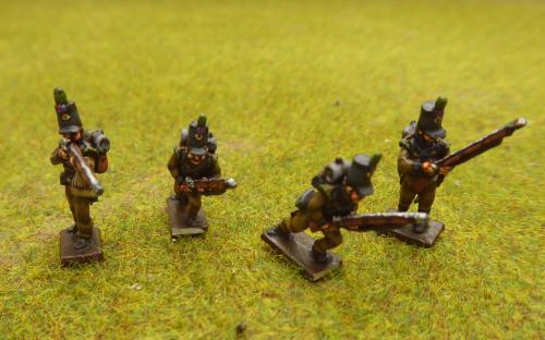 15mm Napoleonic Portuguese Cacadores