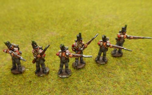 15mm Napoleonic British skirmishers