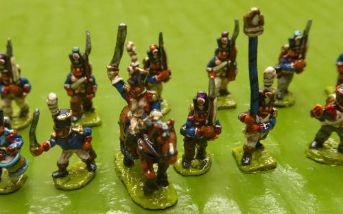 10mm Napoleonic Line infantry battalion 1
