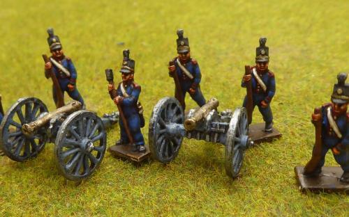 15mm Napoleonic British Foot Artillery