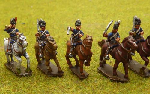 15mm Napoleonic British Light Dragoons