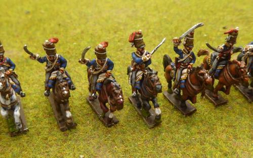 15mm Napoleonic British Hussars