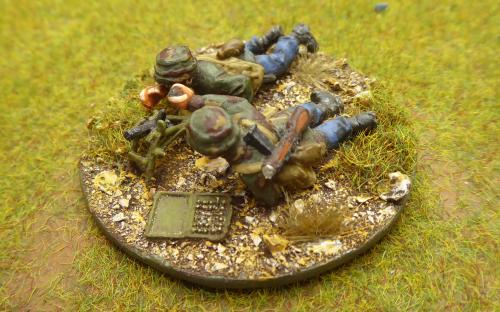 28mm italian Paracadutisti (Warlord Games). This is the version with darker camouflage