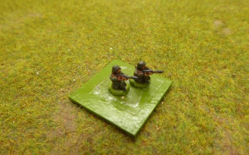 10mm WW2 German snipers (Pendraken miniatures)